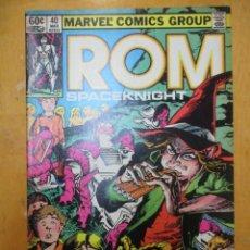 Cómics: COMIC USA - ROM - Nº 40 - MARVEL COMICS GROUP. Lote 139950738