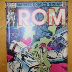 Cómics: COMIC USA - ROM - Nº 42 - MARVEL COMICS GROUP. Lote 139950842