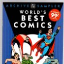 Cómics: ARCHIVE DC SAMPLER. WORLD'S BEST COMICS. CLASSICS FROM THE GOLDEN AGE OF COMICS. INGLES. Lote 139963537