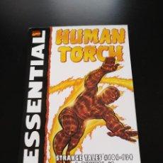 Cómics: ESSENTIAL HUMAN TORCH - STAN LEE - JACK KIRBY. Lote 140146358