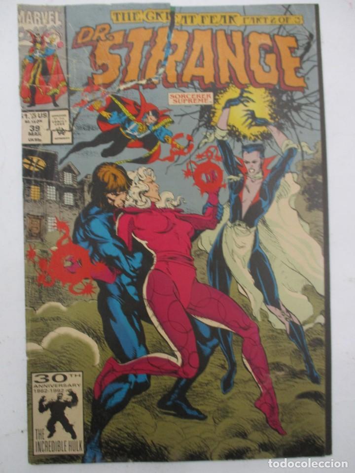 DR.STRANGE - DOCTOR EXTRAÑO - MARVEL COMICS USA - NUMERO 39 (Tebeos y Comics - Comics Lengua Extranjera - Comics USA)