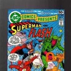 Cómics: DC COMICS PRESENTS 2 SUPERMAN AND FLASH - DC 1978 FN/VFN. Lote 140497262