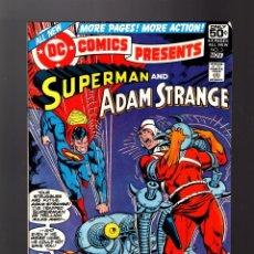 Cómics: DC COMICS PRESENTS 3 SUPERMAN AND ADAM STRANGE - DC 1978 FN/VFN. Lote 140497410