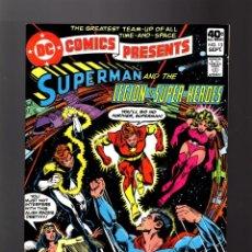 Cómics: DC COMICS PRESENTS 13 SUPERMAN & THE LEGION OF SUPER HEROES - DC 1979 VFN/NM. Lote 140498066
