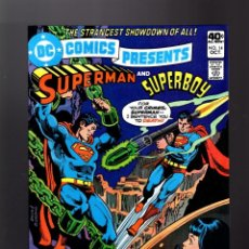Cómics: DC COMICS PRESENTS 14 SUPERMAN VS SUPERBOY - DC 1979 VFN. Lote 140498270