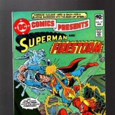 Cómics: DC COMICS PRESENTS 17 SUPERMAN AND FIRESTORM VS KILLER FROST - DC 1980 VFN/NM. Lote 140498862