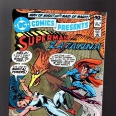 Cómics: DC COMICS PRESENTS 18 SUPERMAN & ZATANNA - DC 1980 VFN/NM. Lote 140498990