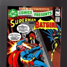 Cómics: DC COMICS PRESENTS 19 SUPERMAN & BATGIRL - DC 1980 FN/VFN. Lote 140499154