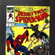 Cómics: DEADLY FOES OF SPIDER-MAN 1 - MARVEL 1991 VFN/NM. Lote 140499606