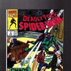Cómics: DEADLY FOES OF SPIDER-MAN 2 - MARVEL 1991 VFN. Lote 140499682