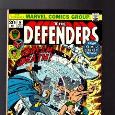 Cómics: DEFENDERS 6 - MARVEL 1973 VFN / SILVER SURFER / DOCTOR STRANGE / HULK / SUB-MARINER. Lote 140500558