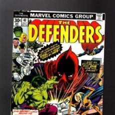 Cómics: DEFENDERS 40 - MARVEL 1976 VFN / DOCTOR STRANGE / POWER-MAN / HULK. Lote 140501026