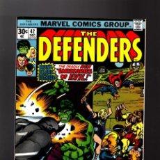 Cómics: DEFENDERS 42 - MARVEL 1976 VFN / DOCTOR STRANGE / POWER-MAN / HULK / CUBIERTA JACK KIRBY. Lote 140501502