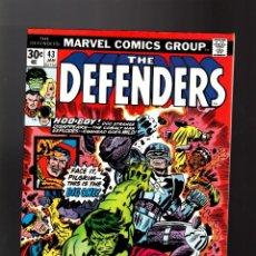 Cómics: DEFENDERS 43 - MARVEL 1977 VFN / DOCTOR STRANGE / POWER-MAN / HULK / CUBIERTA JACK KIRBY. Lote 140501698