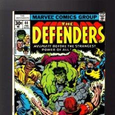 Cómics: DEFENDERS 44 - MARVEL 1977 VG/FN / DOCTOR STRANGE / POWER-MAN / HULK / CUBIERTA JACK KIRBY. Lote 140501870