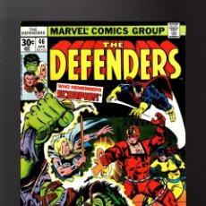 Cómics: DEFENDERS 46 - MARVEL 1977 FN+ / DOCTOR STRANGE / POWER-MAN / HULK / HELLCAT. Lote 140502270