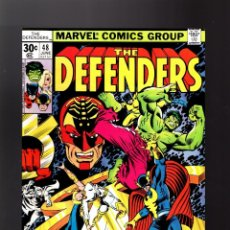 Cómics: DEFENDERS 48 - MARVEL 1977 VFN / MOON KNIGHT / HULK / HELLCAT . Lote 140502618
