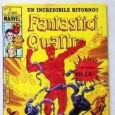 Cómics: FANTASTIC FOUR. FANTASTICI QUATTRO N° 5 - MISSIONE PER UN UOMO MORTO - MARVEL - FEBBRAIO 1989. BYRNE. Lote 140562930