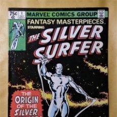 Cómics: LOTE COMIC USA FANTASY MASTERPIECES 1 4 MARVEL 1979 SILVER SURFER ESTELA PLATEADA THOR BUEN ESTADO.. Lote 140658974