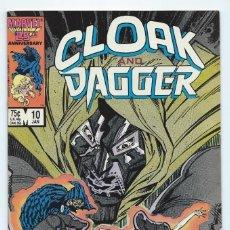 Cómics: CLOAK AND DAGGER #10 (JAN 1987, MARVEL).. Lote 140672438
