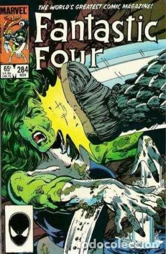 FANTASTIC FOUR (1961 SERIES) #284 . MARVEL COMICS. BYRNE. (Tebeos y Comics - Comics Lengua Extranjera - Comics USA)