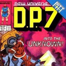 Cómics: NEW UNIVERSE: DP 7 #18. MARVEL.. Lote 140677718