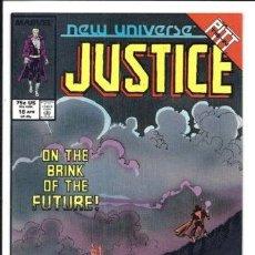 Cómics: NEW UNIVERSE: JUSTICE 18. MARVEL.. Lote 140678074