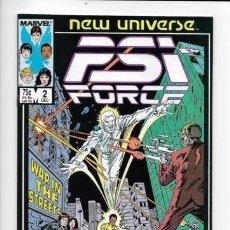 Cómics: NEW UNIVERSE: PSI FORCE 2. MARVEL.. Lote 140678258