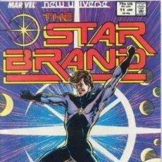 Cómics: NEW UNIVERSE: STAR BRAND 11. MARVEL.. Lote 140678442