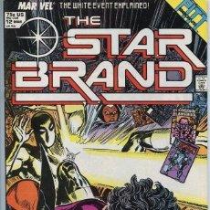 Cómics: NEW UNIVERSE: STAR BRAND 12. MARVEL.. Lote 140678498