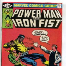 Cómics: POWER MAN AND IRON FIST 68 MARVEL 1981 LUKE CAGE. FRANK MILLER.. Lote 140679858