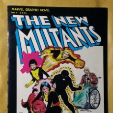Cómics: EXCEPCIONAL LOTE NUEVOS MUTANTES. MARVEL GRAPHIC NOVEL 4 + NEW MUTANTS 1 Y 2. COMIC USA.. Lote 140796750