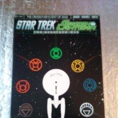 Cómics: STAR TREK /GREEN LANTERN -THE SPECRUN WAR Nº1 -DC COMIC -IDW-INGLES-2015 COMIC BLOCK. Lote 140866034
