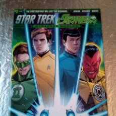 Cómics: STAR TREK /GREEN LANTERN -STRANGER WORLDS Nº1 -DC COMIC -IDW-INGLES-2016 NERD BLOCK. Lote 140866850