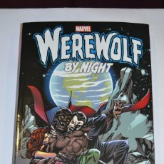 Cómics: WEREWOLF BY NIGHT (HOMBRE LOBO) THE COMPLETE COLLECTION VOLUMEN 2 . COLOR. MARVEL 2018. Lote 140904670