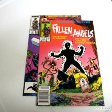 Cómics: US MARVEL: FALLEN ANGELS: NUMEROS 1 Y 2. EN INGLES. X-MEN.. Lote 141303070