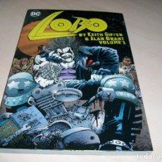 Cómics: LOBO. VOLUMEN 1. KEITH GIFFEN Y ALAN GRANT. DC COMICS. 320 PÁGINAS. NUEVO.. Lote 141538750