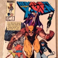 Cómics: US MARVEL: HEROES FOR HOPE STARRING THE X-MEN #1 (DEC 1985, MARVEL).. Lote 192442930