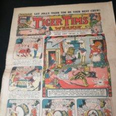 Cómics: TIGER TIMS. Lote 142046186