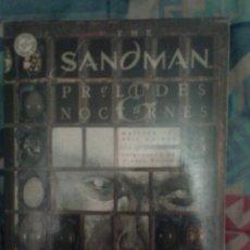 Cómics: THE SANDMAN: PRELUDES AND NOCTURNES: 1 EDICIÓN EN TOMO AMERICANA: NEIL GAIMAN: VÉRTIGO COMICS. Lote 142466777