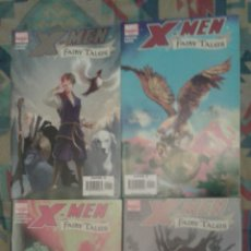 Cómics: X-MEN: FAIRY TALES: COMPLETA EN 4 NUMEROS: BILL SIENKIEWICZ Y OTROS DIBUJANTES: MARVEL COMICS. Lote 142474500