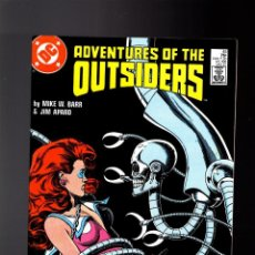 Cómics: OUTSIDERS 45 ADVENTURES OF THE - DC 1987 VFN / MIKE BARR & JIM APARO. Lote 142564786