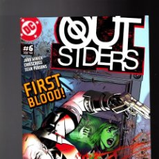 Cómics: OUTSIDERS 6 - DC 2004 VFN+ / JUDD WINICK & CHRISCROSS. Lote 142565098