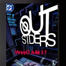 Cómics: OUTSIDERS 7 - DC 2004 VFN+ / JUDD WINICK & TOM RANEY. Lote 142565218
