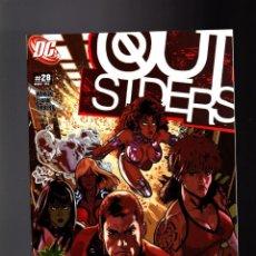 Cómics: OUTSIDERS 28 - DC 2005 VFN/NM / JUDD WINICK & MATTHEW CLARK. Lote 142565770