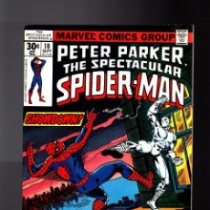 Cómics: PETER PARKER THE SPECTACULAR SPIDER-MAN 10 - MARVEL 1977 FN/VFN / WHITE TIGER. Lote 142566250