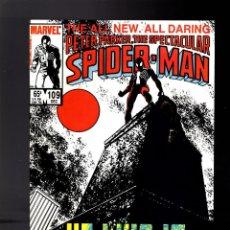 Cómics: PETER PARKER THE SPECTACULAR SPIDER-MAN 109 - MARVEL 1985 VFN+ / DAVID & BUCKLER /DEATH JEAN DEWOLFF. Lote 195402311