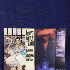 Cómics: LONE WOLF AND CUB KAZUO KOIKE FIRST PUBLISHING FORMATO PRESTIGE 1 Y 15 DOS NUMEROS . Lote 142979414