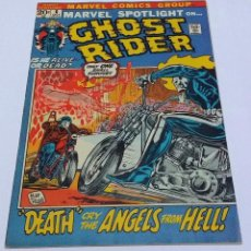 Cómics: INTERESANTE LOTE COMIC USA GHOST RIDER SPIDERMAN. STAN LEE. BUEN ESTADO.. Lote 143019670