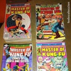 Cómics: THE HANDS OF SHANG CHI MASTER OF KUNG COMPLETA DEL 17 A 125 SERIE ORIGINAL MARVEL NO FORUM NO PANINI. Lote 143075058